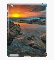 Birubi Pool (Setting Sun) iPad Case/Skin