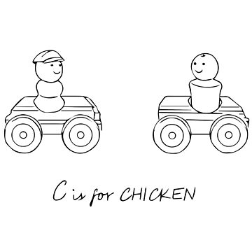 C is for CHICKEN by KEssenpreis