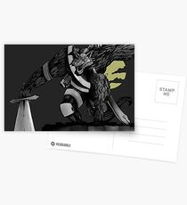 Werewolf Postcards