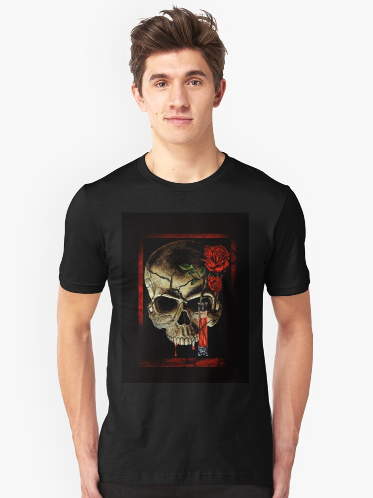 Skull With Roses by quin10