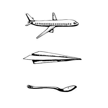 3 Airplanes by KEssenpreis