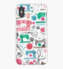 Sewing Pattern iPhone Case/Skin