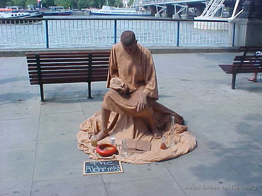 A statue by Anton Jansen van Rensburg