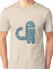 CUTE MONSTER. CURLY TAIL Unisex T-Shirt