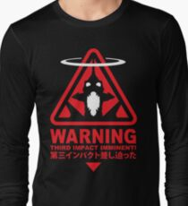Evangelion Alert Long Sleeve T-Shirt