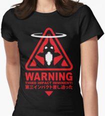 Evangelion Alert Womens Fitted T-Shirt