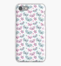 Cute Pastel Butterflies iPhone Case/Skin