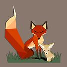 foxy foxes by Tiffany Larson
