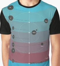 Space Infographic - Trappist-1 Graphic T-Shirt