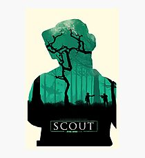 Scout: A Star Wars Story Poster #1 Photographic Print