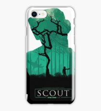 Scout: A Star Wars Story Poster #1 iPhone Case/Skin