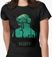 Scout: A Star Wars Story Poster #1 Womens Fitted T-Shirt