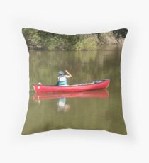 Row the boat Throw Pillow