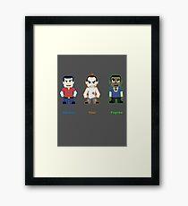 Choose Your Psycho Framed Print