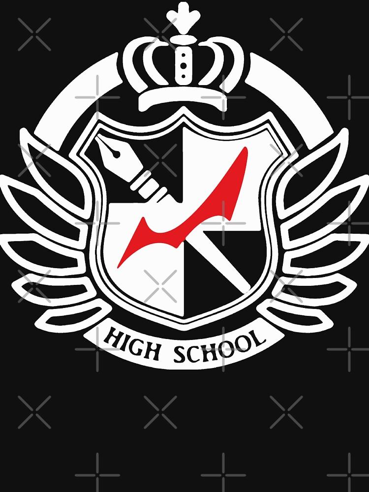 Hope's peak academy by imposibear