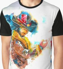 League of Legends - Water Color Twisted Fate Graphic T-Shirt
