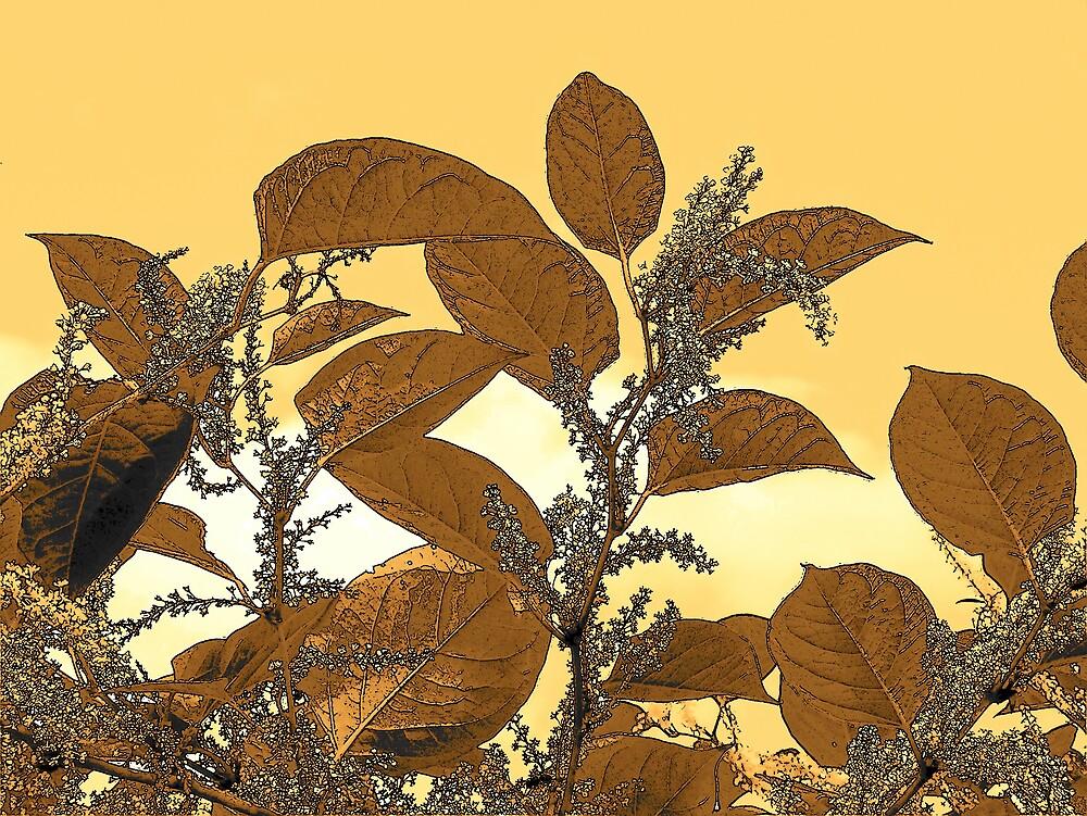 Autumn Leaves 3 by Gene Cyr