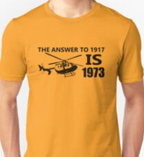 The Answer To 1917 Unisex T-Shirt
