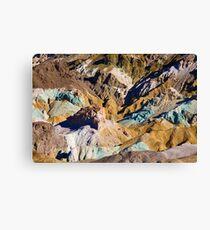 Artist Palette (7063) Canvas Print