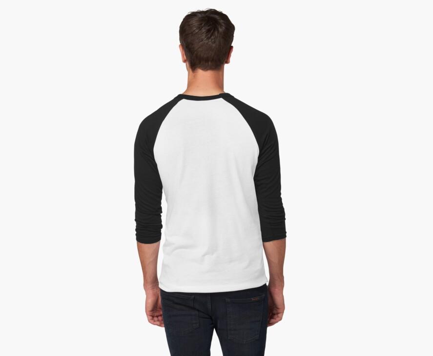 Camisetas bicolor con manga ¾ para hombre «Camiseta estilo béisbol ...