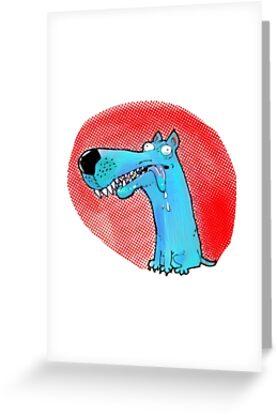 stupid dog funny cartoon by anticute