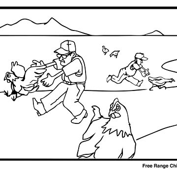 Free Range Chicken Ranch by PaulOddo