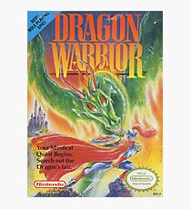 Dragon Warrior Photographic Print
