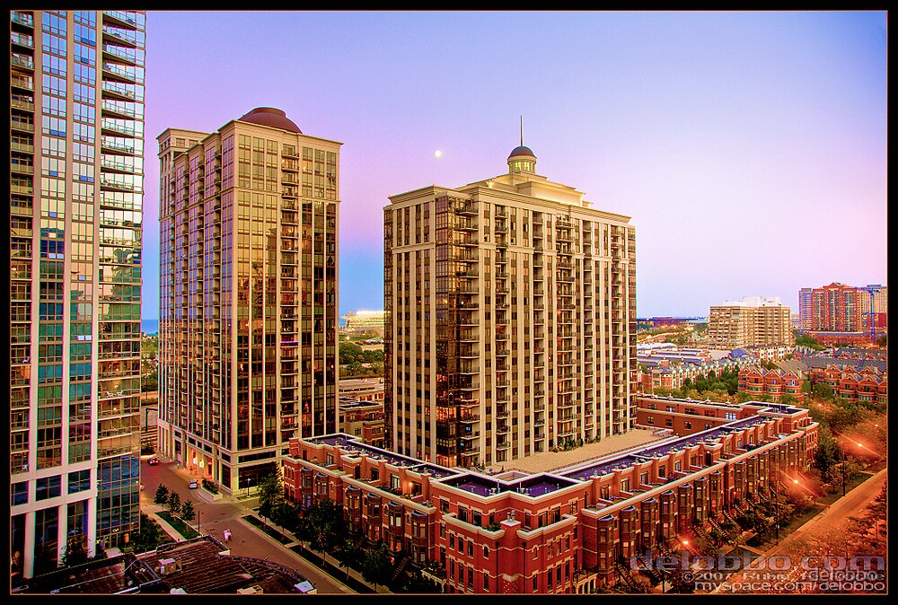 Chicago South Loop HDR 01 by delobbo