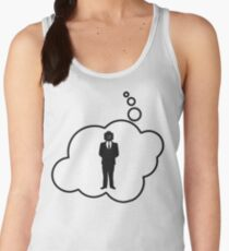 Minifig Business Man by Bubble-Tees.com Women's Tank Top