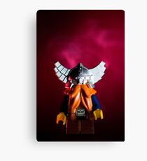 Angry Dwarf Canvas Print