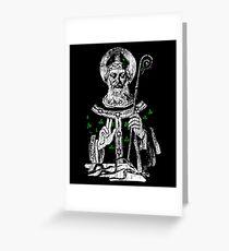 Saint Patrick Greeting Card