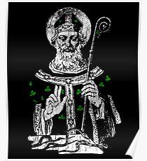 Saint Patrick Day Symbol Poster