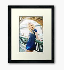 Monica Framed Print