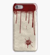Bloody Murder Violent Blood Splatter Texture iPhone Case/Skin