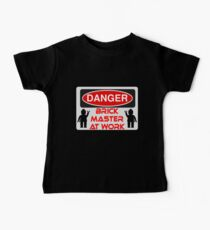 Danger Brick Master at Work Sign Kids Clothes