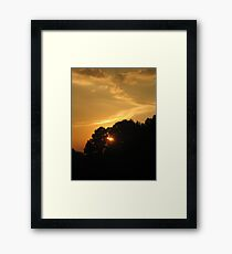 Calm...after the Storm Framed Print