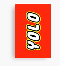 YOLO by Customize My Minifig Canvas Print
