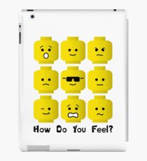 'How Do You Feel?' by Customize My Minifig  iPad Case/Skin