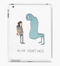 Alien Sightings iPad Case/Skin