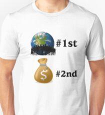 Planet first T-Shirt