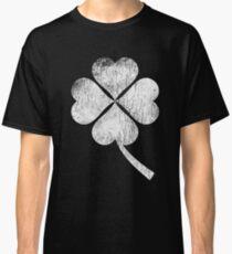 Distressed Shamrock, St. Patricks Day Classic T-Shirt