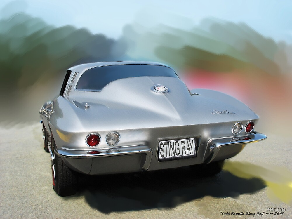 1965 Corvette Sting Ray Coupe by kenmo