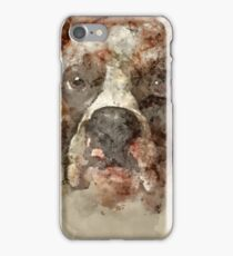 Watercolor Dog iPhone Case/Skin