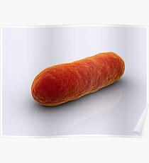 Begriffsbild von Bakterien. Poster