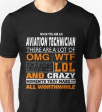 AVIATION TECHNICIAN LOL Unisex T-Shirt