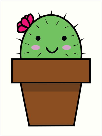 Image result for cartoon happy cactus clipart