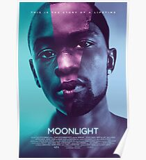 Moonlight Oscar Movie Poster
