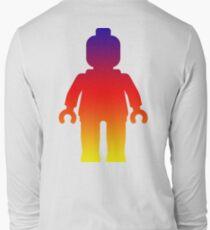 Minifig [Large Rainbow 2]  Long Sleeve T-Shirt