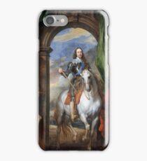 Anthony Van Dyck - Charles I With Monsieur De St Antoine iPhone Case/Skin