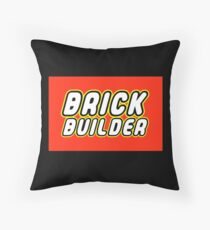 BRICK BUILDER  Throw Pillow